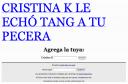 Cristina K te ama