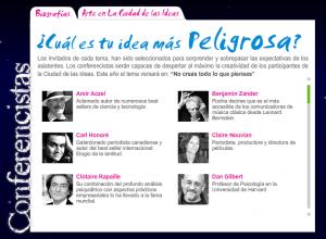 La Ciudad de las Ideas - Conferencistas