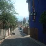 Calles pintorescas en Malinalco