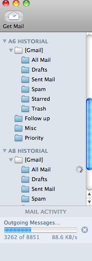Mail.app sube que sube